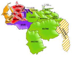 estados de venezuela y sus capitales