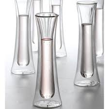 modern champagne flutes