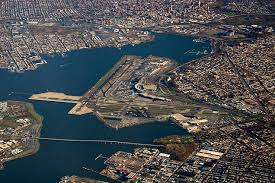 new york city airport map