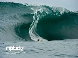 big wave body boarding