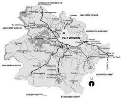 peta bandung timur