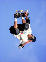 tony hawk skateboarding