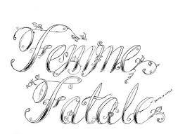 femme fatale tattoos