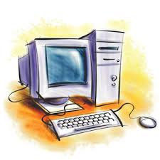 drawing of a computer