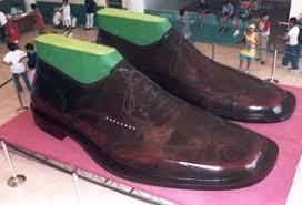 largest shoes