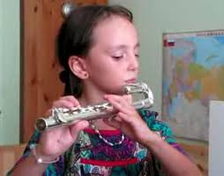 curved flute