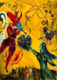 mark chagall paintings