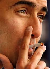 gambar akibat merokok