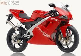 moto de carrera