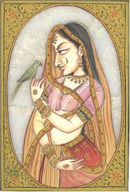 indian paintings of women