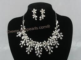 pearl bridal necklaces
