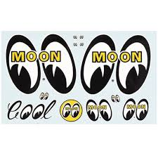 moon decal