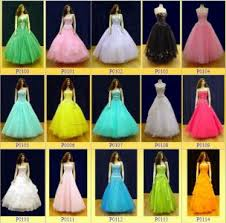 bright color prom dresses