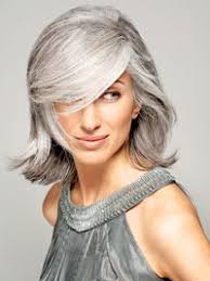 gray hair pictures