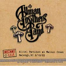 allman brothers instant live