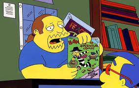 comic book man simpsons