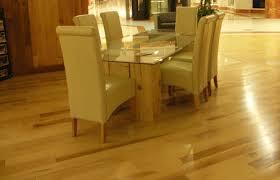 natural maple hardwood floor