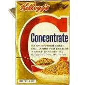 concentrate cereal