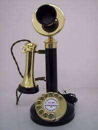 candle stick telephone