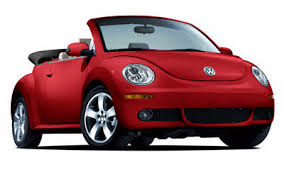 red beetle convertible
