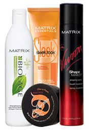 matrix hair color samples