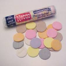 necco candy wafers