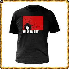 billy talent t shirts