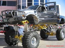 jacked up truck pics