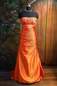 empire waist evening gown