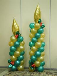 christmas balloon decor