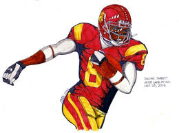 drawings of nfl players