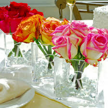 glass vases centerpieces