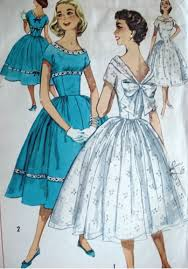 1950s dress styles