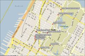 new york attraction map