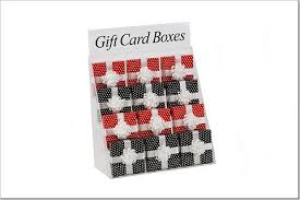 gift card displays