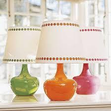 glass lamp bases