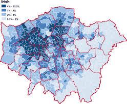 ethnic map of london