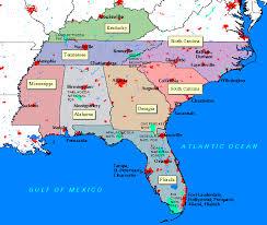 alabama mississippi map