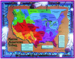 map native americans