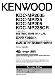 kenwood kdc mp235cr