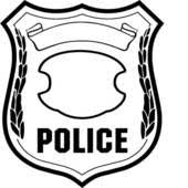 police badge graphic
