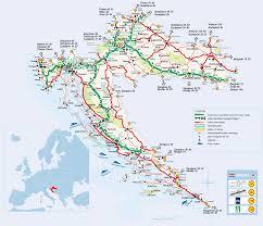 croatia road map