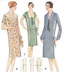1920 dress pattern