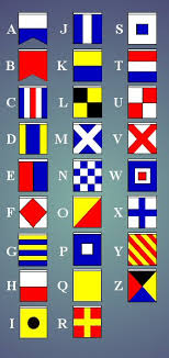 sailing flag alphabet