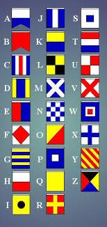alphabet flag