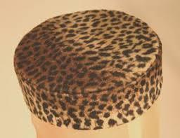 leopard skin hat