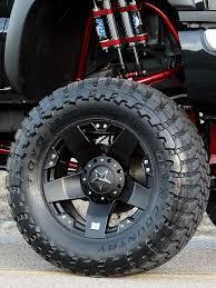 black rockstar wheels