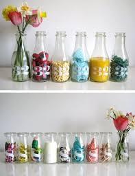 antique milk bottle