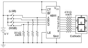 led 7 segment display