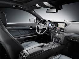 e class coupe interior